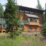 Southside of OSC Donner Lodge